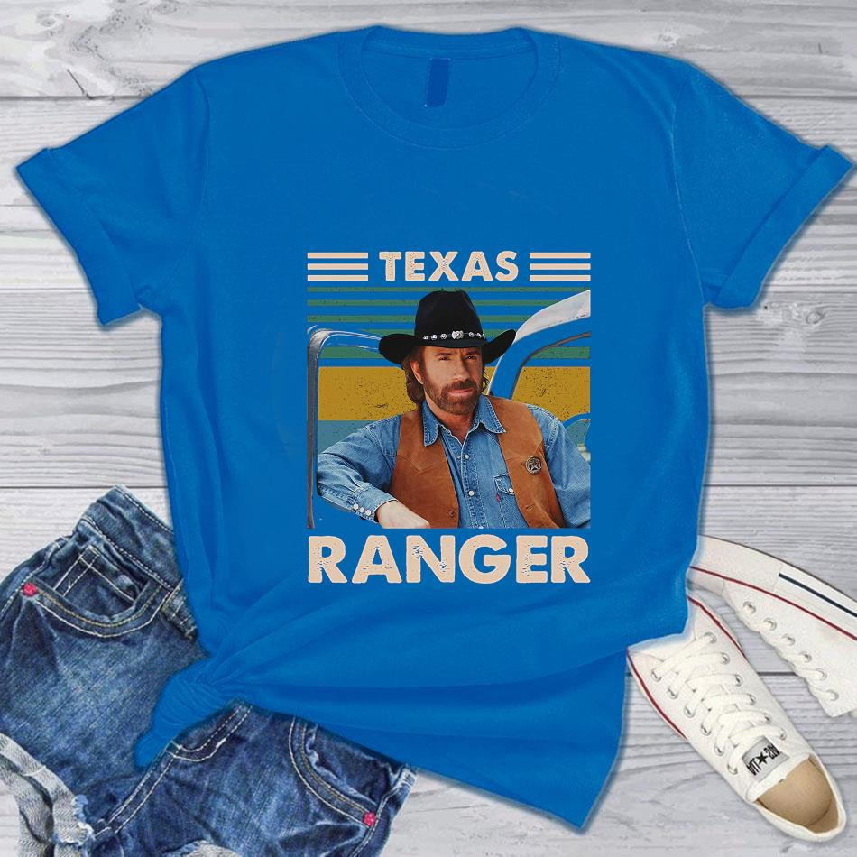 Texas Ranger vintage t-s blue