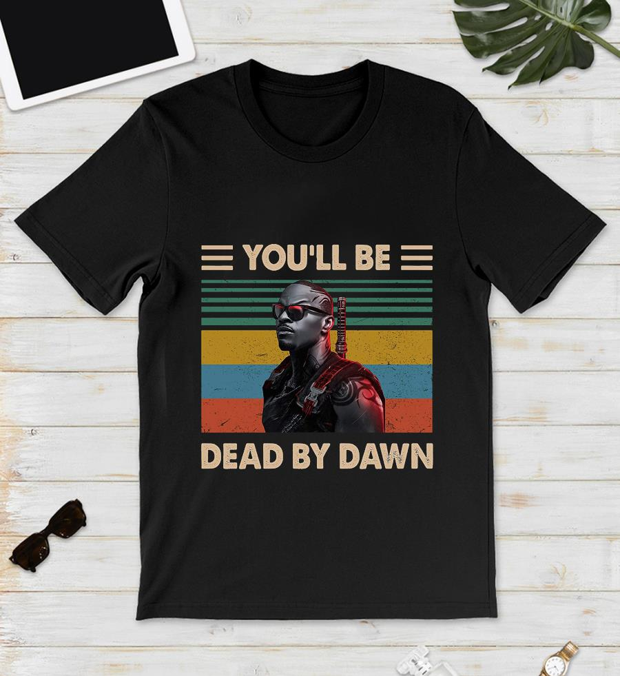 Vampire Hunter you'll be dead by dawn vintage t-s unisex
