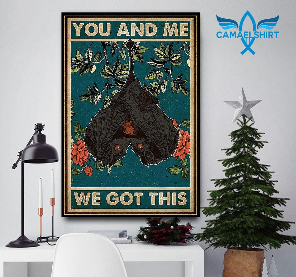 You and me we got this bat couple poster