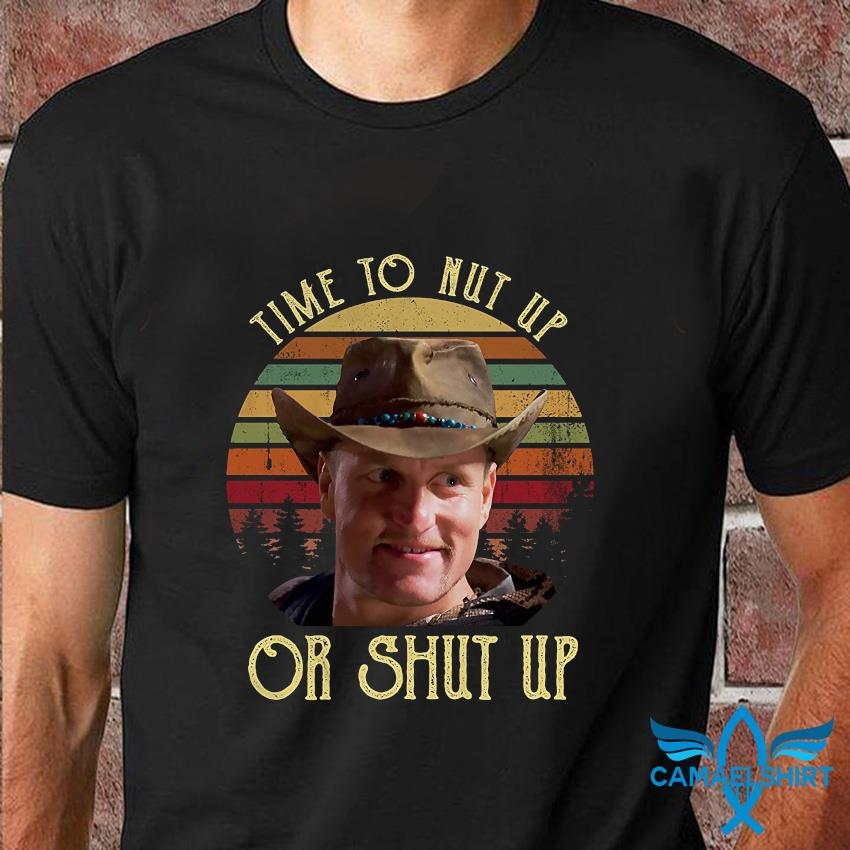 Zombieland time to nut up or shut up vintage t-shirt