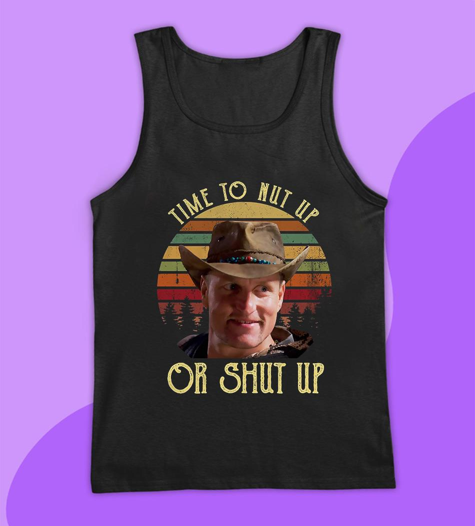 Zombieland time to nut up or shut up vintage t-s tank top