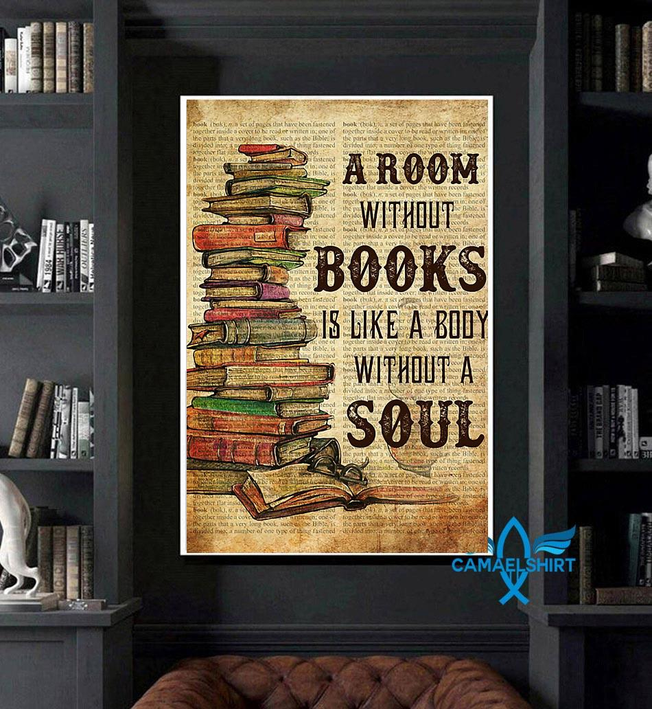 A room without books definition poster art